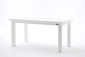 Dining Tables - Nova Solo T766 Halifax French Countryside Extension Table White Semi-gloss | 8994921001142 | Only $869.00. Buy today at http://www.contemporaryfurniturewarehouse.com