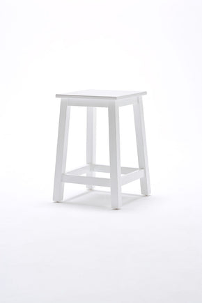 Halifax French Countryside Stool White Semi-gloss