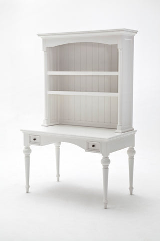 Provence Secretary Desk White semi-gloss