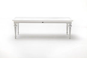 "Provence 94"" Dining Table White semi-gloss"
