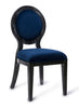 Cerused Oak Navy Chair (Set of 2)