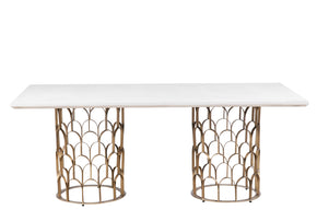Tov Furniture TOV-D7068 Gatsby Concrete Dining Table