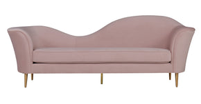 Tov Furniture TOV-L6211 Plato Blush Velvet Sofa