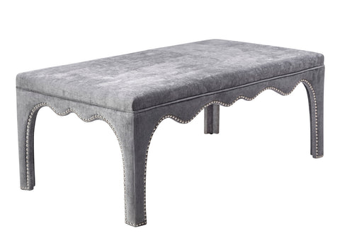 Tov Furniture TOV-O120 Ditmas Grey Bench/Table