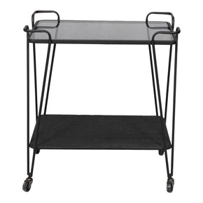 Moe's Home Collection TY-1036-02 Fielding Bar Cart Black