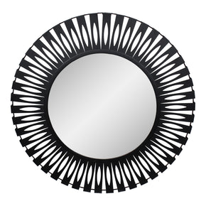Moe's Home Collection TY-1038-02 Radiate Mirror Black Black