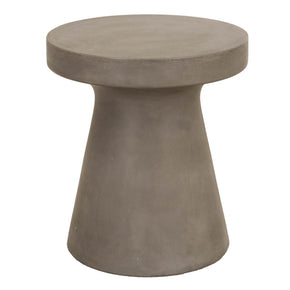 Star International Furniture 4611.SLA-GRY Tack End Table Slate Grey Sealed Concrete