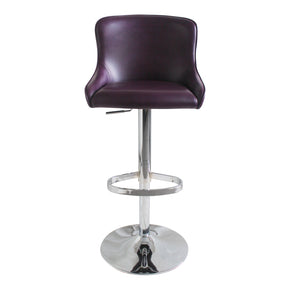 Moe's Home Collection UU-1009-10 Kapp Adjustable Stool Purple