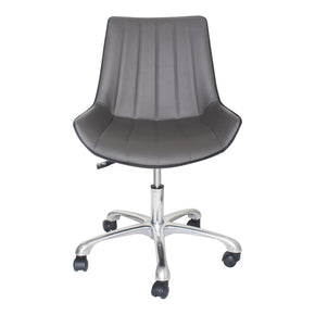 Moe's Home Collection UU-1010-41 Mack Office Chair Grey