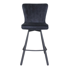 Moe's Home Collection UU-1011-28 Sonnet Counter Stool Blue