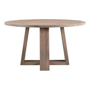 Tanya Round Dining Table Natural Wood