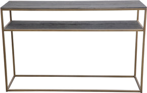 Moe's Home Collection VL-1029-43 Studio Console Table Brass Industrial Brass