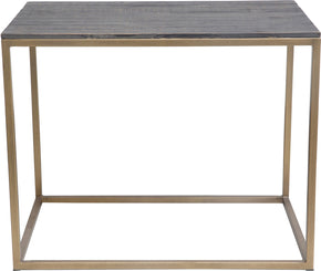 Moe's Home Collection VL-1030-43 Studio Side Table Brass Industrial Brass