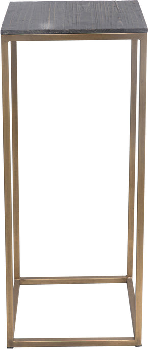 Moe's Home Collection VL-1031-43 Studio Plant Tables Brass Set Of 2 Industrial Brass
