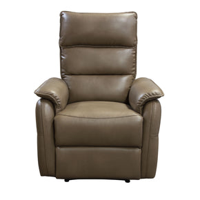 Diamond Sofa WALSHRCHCF Walsh Manual Reclining Accent Chair in Coffee Air Leather