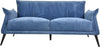 Sofas - Moes Home Collection WH-1010-46 Verona Sofa Navy Blue Contemporary Modern Navy Blue | 849043084246 | Only $1199.00. Buy today at http://www.contemporaryfurniturewarehouse.com