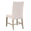 Wilshire Dining Chair (Set of 2) Stone Fabric, Natural Gray
