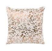Moe's Home Collection XU-1011-32 Napolean Leather Cushion Gold