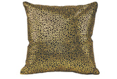 Moe's Home Collection XU-1013-02 Daisy Pillow Black And Gold Black