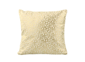 Moe's Home Collection XU-1013-18 Daisy Pillow White And Gold White