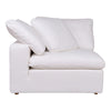 Clay Corner Chair Livesmart Fabric Cream