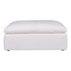 Clay Ottoman Livesmart Fabric Cream
