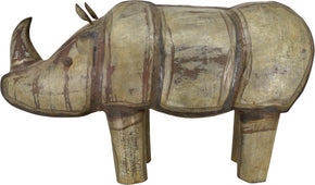 Moe's Home Collection YZ-1002-01 Iron Rhinoceros Glam Antique