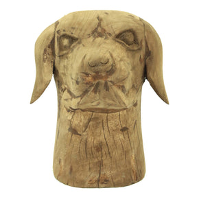Moe's Home Collection YZ-1006-24 Wooden Dog Head
