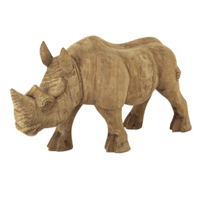 Moe's Home Collection YZ-1008-24 Wooden Rhino