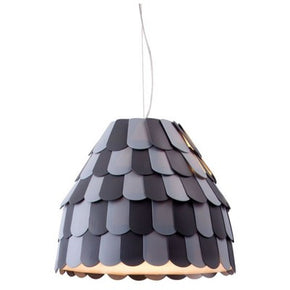 Zuo Modern 50159 Mesocyclone Ceiling Lamp Gray