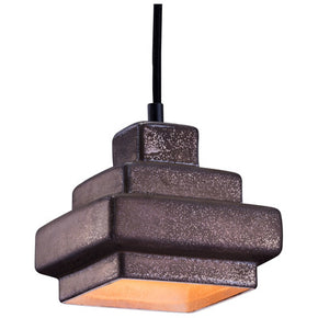 Zuo Modern 98409 Wellingston Ceiling Lamp Rustic Black