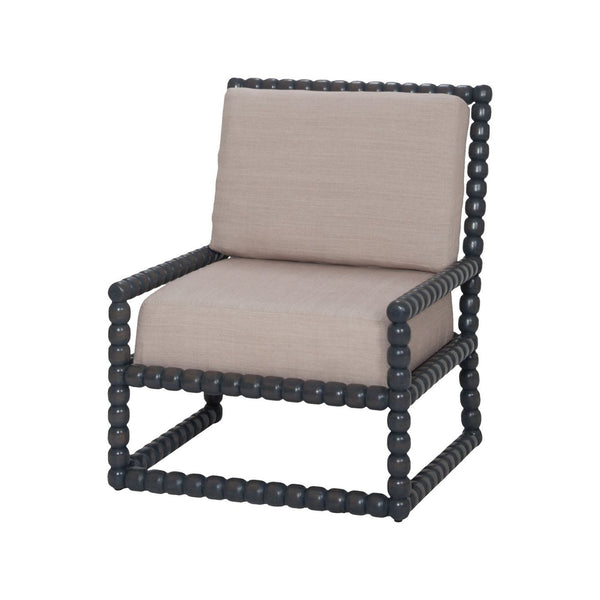 Montgomery Chair Antique Smoke Accent