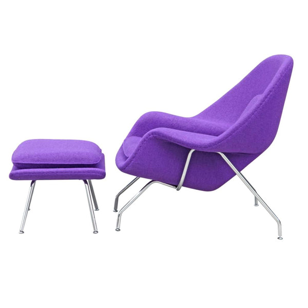 Terrific Woom Chair And Ottoman Purple Gamerscity Chair Design For Home Gamerscityorg