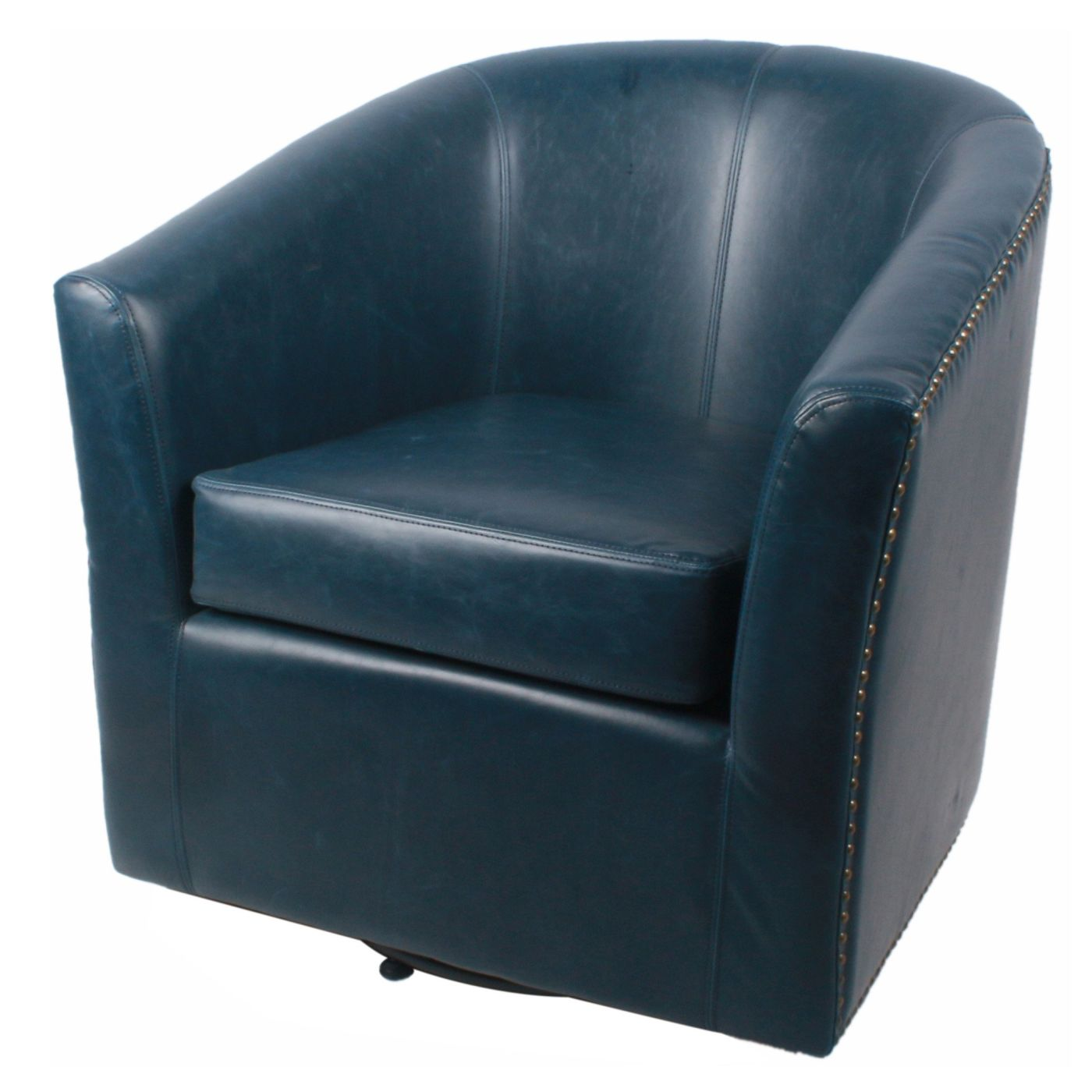 Superbe Blue Leather Chairs At Contemporary Furniture Warehouse | Accent Chairs,  Armchairs, Dining Chairs, Lounge Chairs, Office Chairs