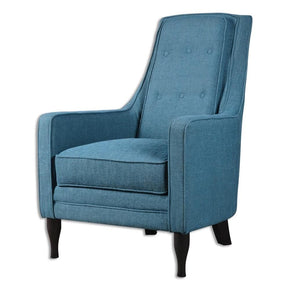 Impressive Navy Blue Accent Chair Plans Free