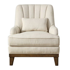 Denney Oatmeal Accent Chair