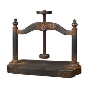 Accessories - Elk Group ELK-129-1009 Cast Iron Book Press Restoration Rusted Black | 843558032655 | Only $172.80. Buy today at http://www.contemporaryfurniturewarehouse.com