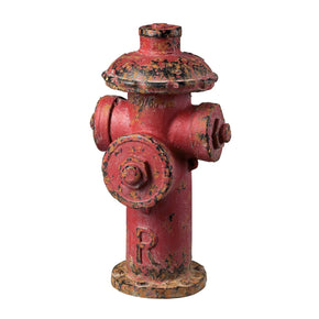 Fire Hydrant Décor Red Accessories