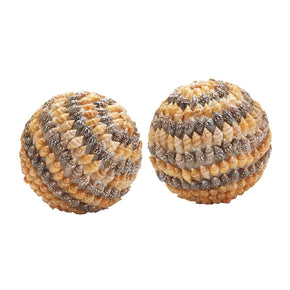 Brown Shell Ball Natural Accessories