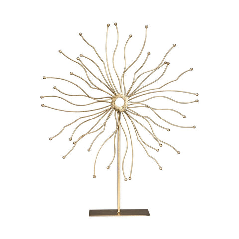 Trode Table Sculpture Soft Gold Accessories