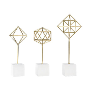 Theorem Decorative Stands Soft Gold,white Accessories