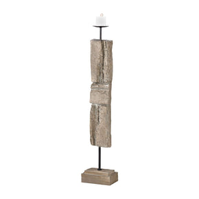 Acueducto Candle Holder Driftwood Accessories
