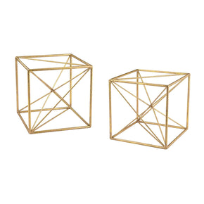 Angular Study Décor Gold Accessories