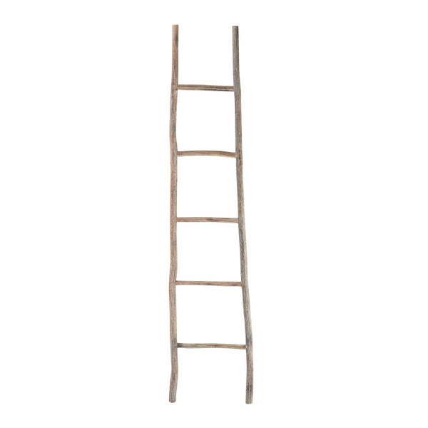 Wood White Washed Ladder - Large Light Accessories
