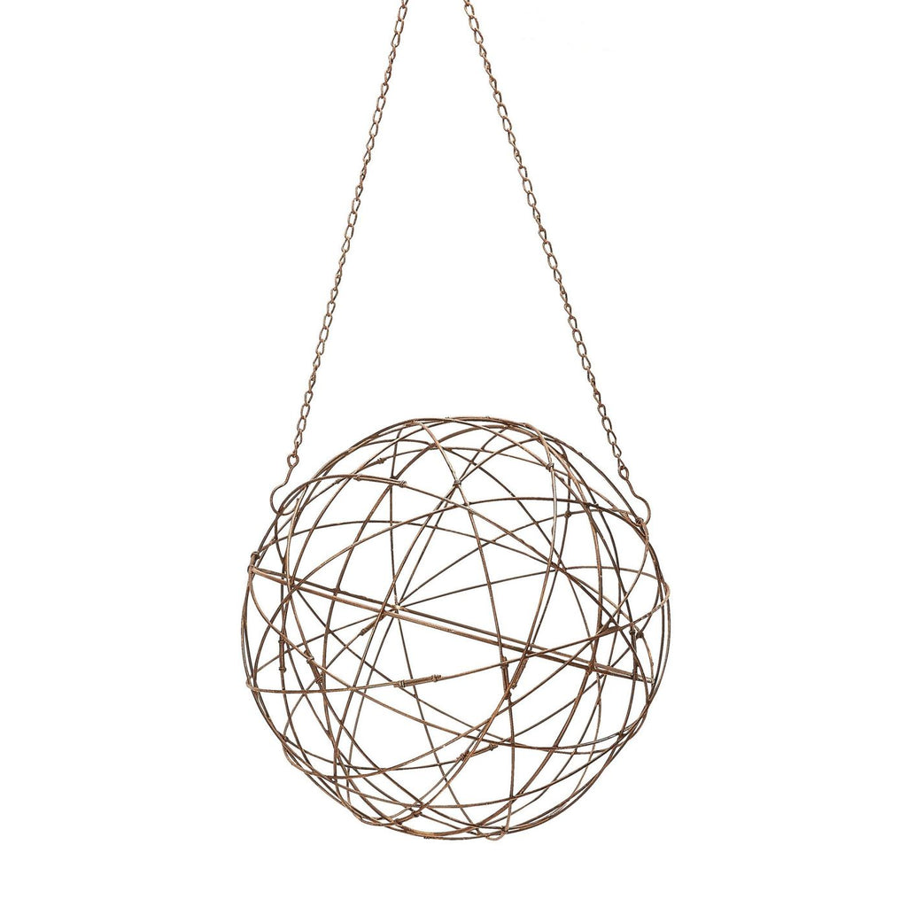 Aged Iron Wire Sphere - Small Accessories