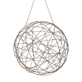 Aged Iron Wire Sphere - Large Accessories