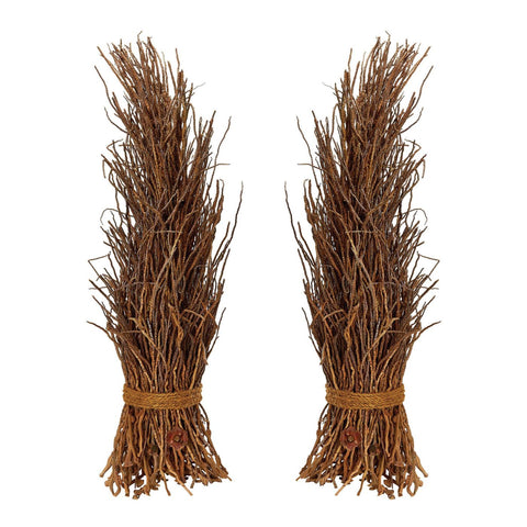 Natural Cocoa Twig Sheaf - Set Of 2 Accessories