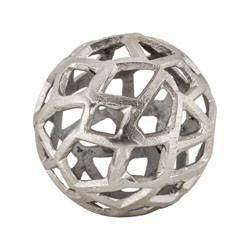 Aluminum Organic Balls - Set Of 2 Raw Nickel Accessories