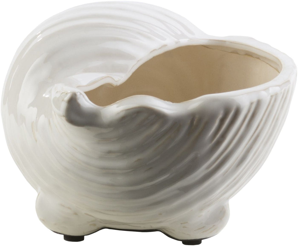 Clearwater Coastal Shell Ivory Light Gray Accessories