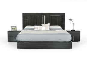 Modrest Ari Italian Modern Grey Bed